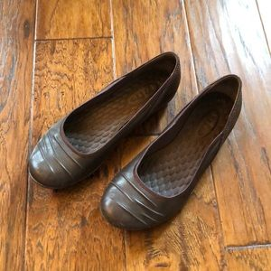 Privo Leather Ballet Flats